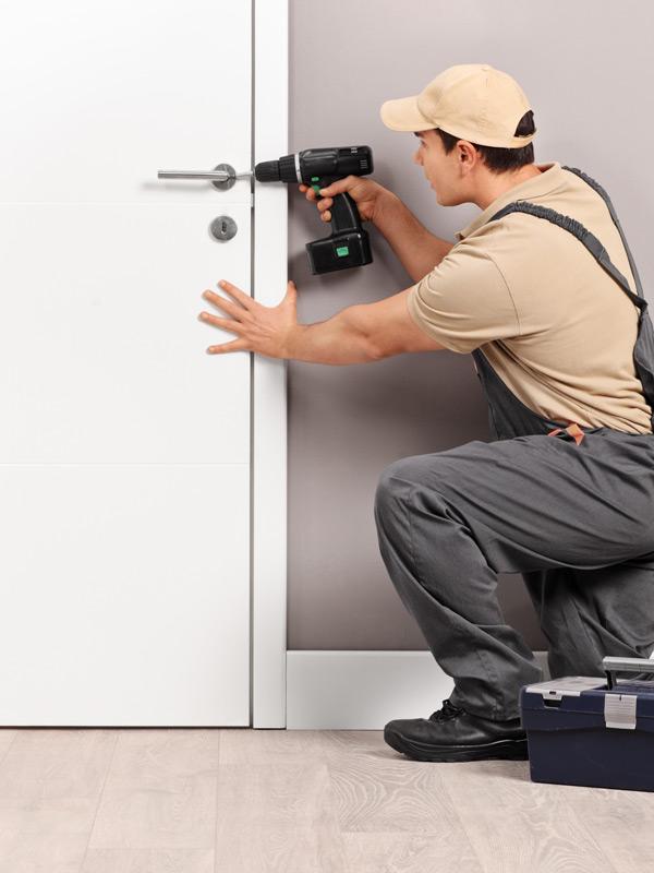 installazione porta tagliafuoco