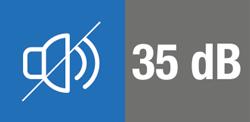 35 decibel